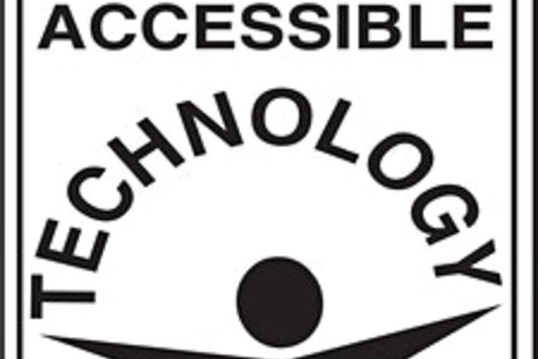 CFAT's logo, a stick figure outstretching its arms, located under the word Technology