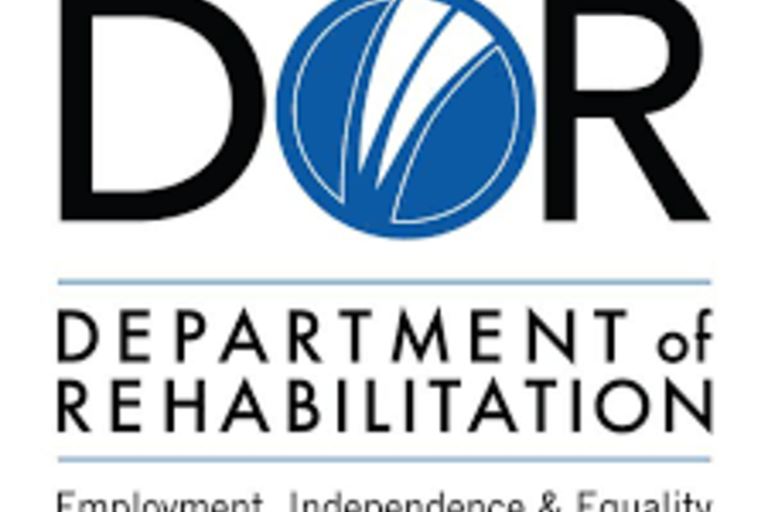 The words DOR: Department of Rehabilitation: Employment, Independence, and Equality